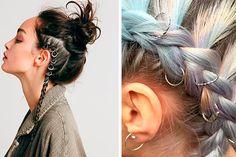 Piercing para el cabello? Descubre esta nueva tendencia que te encantará