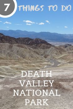 Check out these 7 things to do in Death Valley National Park in California. This National Park is an easy day trip from Las Vegas. There is a lot to do within a short drive of the Furnace Creek Visitor Center. California National Parks, National Parks Usa, Joshua Tree National Park, Valley Landscape, Sunset Landscape, Landscape Photos, Beautiful Places In America, Hiking With Kids, Death Valley National Park