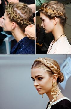 BEAUTY: BRAIDS INSPIRATION | Collage Vintage