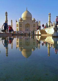 Taj Mahal,Agra,India by Lemmo2009 on Flickr.