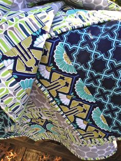 Art Deco Quilt by TheSpottedLamb on Etsy