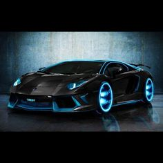 Cool Tron Inspired Lambo