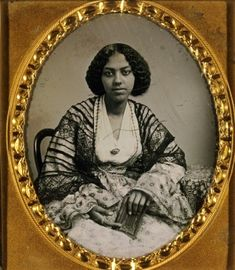 "Missouri History Museum - ""Unidentified young African American woman, front view. Thomas M. Easterly."""