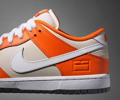 "Nike SB is getting ready to release the limited edition Dunk Low Premium ""Orange Box."" The name of the sneaker describes it pretty well. It is inspired by one of the early Nike SB bright orange shoe boxes. Signature details of the sneaker include an embossed leather insignia on the back and an illustrated sockliner, …"