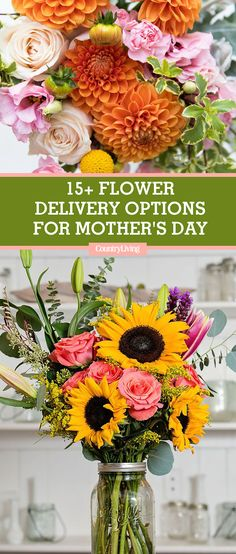 What better way to celebrate your mom on Mother's Day than with a bouquet of flowers that's as beautiful as she is? Online ordering has made flower shopping easier than ever. Check out these retailers you can order from.  #mothersday #mothersdayflowers #mothersdaygifts