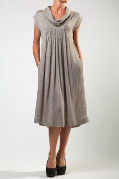 Herringbone Olga Dress