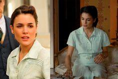 El tiempo entre costuras. Capítulo 3. Sira Quiroga vestido verde pastel vía http://www.antena3.com/series/el-tiempo-entre-costuras/