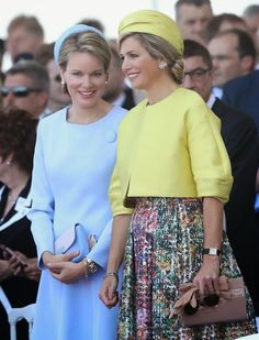 D-Day 70th Anniversary | Queen Mathilde and Queen Maxima