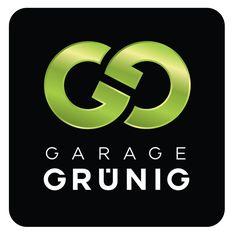 """Corporate Design: Erscheinungsbild für Garage """"Grünig"""" in Münchenbuchse (Logodesign)   Lockedesign 2014"""