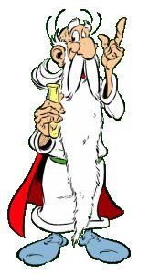 Ce personnage exceptionnel est présent depuis la première BD d'Astérix   le druide Panoramix  il est connu pour sa potion magique Savant et philosophe il est craint par tous les romain. Créé par René Goscinny et Albert Uderzo.  Lorenzo girardet