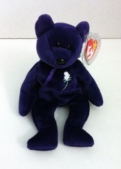 81c5ce15432 Princess Diana Ty Beanie Baby Retired 1997 Swing Tag With Protector   TyBeanieBabies Swing Tags
