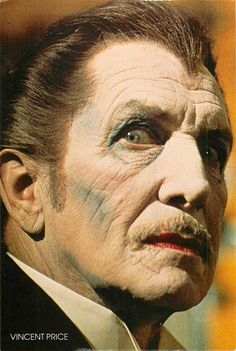 Vincent Price photographed by Roddy McDowell.