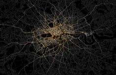 MAPPING PRIVATE HIRE CABS IN LONDON Ed Manley (UCL Geomatic Engineering) produced this great map of private hire vehicles in London