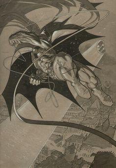 Batman, Vol. 1 # 655 Variant, by Adam Kubert.
