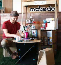 An interview with Makedo's Founder and Inventor Paul Justin (PJ). Learn about how his kids were his inspiration behind Makedo and what makes his heart sing!   On the blog 'A bit of this, a bit of that' by Jojoebi Designs.