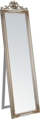 Eleganter Standspiegel im barocken Stil - ein echter Klassiker