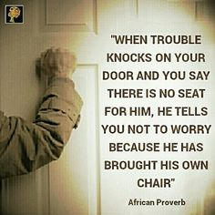 The trouble with trouble is that it knows to do nothing else but to trouble. Giving trouble the attributes of a human, i would say that trouble is such a hardworking person.He is never unemployed and never takes vacation. He has his own tools for his trade and has carved a niche for himself as one who can work tirelessly without pay. He does over-time where allowed. He never declines a job offer. And even for places where his application for employment is denied, he constantly applies for…