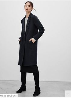 I love menswear inspired coats, and this one from Aritzia is lovely.
