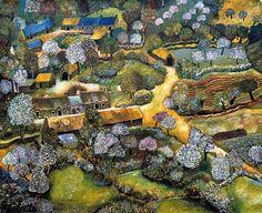 Lucien, Landscape Paintings, Landscapes, Brittany, City Photo, Google Search, Spring, Painted Canvas, Paisajes