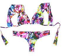 Designer Brazilian Bikinis & Swimwear. Cheeky Bikini Bottoms, Reversible Swimwear, Thongs & Bikini Tops. Exclusive Brazilian Swimwear Handmade in Miami Beach