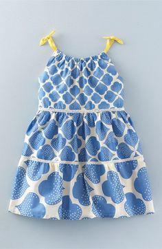 Mini Boden gradas del vestido de la impresión (las muchachas del niño, niñas y muchachas grandes)
