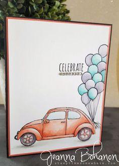 #TGIFC49 Color Combo Stampin' Up! Celebrate | Beautiful Ride Jeanna Bohanon