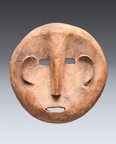 Mask, Makonde Wood, 17.5cm Collection of the GRASSI Museum               QCC Art Gallery
