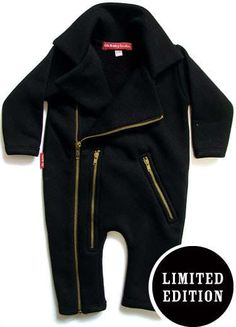 even babies need some black...