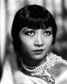 Anna May Wong was the first Chinese American movie star who was able to gain spot light in Hollywood as well as international recognition. Description from standardvintage.wordpress.com. I searched for this on bing.com/images