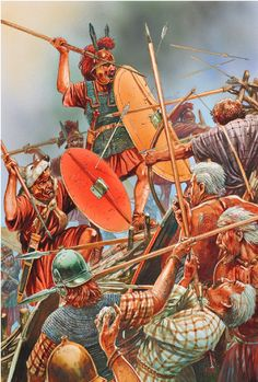 Battle the Roman troops with the Celts