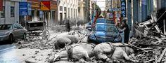 """Em 1906, São Francisco, na Califórnia, teve que nascer de novo. No dia 18 de abril daquele ano, um terremoto estimado em 7.9 na escala richter atingiu a cidade às 5h12 da manhã e destruiu 80% de todas as construções. Além dos estragos causados diretamente pelo tremor de terra, mais de 30 incêndios provocados por...<br /><a class=""""more-link"""" href=""""https://catracalivre.com.br/geral/dica-digital/indicacao/fotografo-junta-imagens-com-mais-de-um-seculo-de-diferenca/"""">Continue lendo »</a>"""