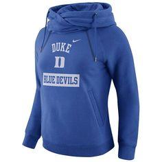 570d4373ffb9 Women s Nike Duke Blue Devils Rally Hoodie