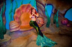 #Ariel Under the Sea #Journey of the Little Mermaid at #DisneyWorld #Magic Kingdom's New Fantasyland
