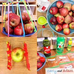 Apple Science Fall Autumn STEM Activities and Challenges BUNDLE | TpT Stem Teacher, Elementary Teacher, Stem Learning, Hands On Learning, Science Lessons, Science Experiments, How To Make Applesauce, Engineering Design Process, Coding For Kids