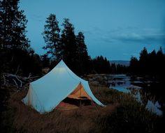 a nice little camp site