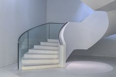 Stair and lightspot by Theo Luycx   ..rh