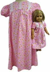 Young Jillian's nightdress (minus the doll. Cherry Apple, Polka Dot Top, Doll, Summer Dresses, Women, Fashion, Moda, Dolls, Sundresses