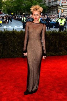 HOT or NOT: Miley Cyrus At The Punk Themed Met Gala