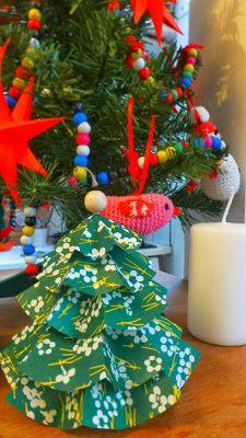 http://bricartbrac.blogspot.fr/ My Christmas Tree / DIY