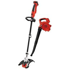 The #BLACK+DECKER LCC420 20v Max String Trimmer & Sweeper Lithium Ion Combo Kit features a 20V Max Lithium Ion battery which has a longer lifespan and retains it...