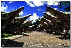Kate'kesu Village, Tana Toraja, Indonesia.