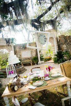 Mad Hatter Tea Party Wedding by proteamundi