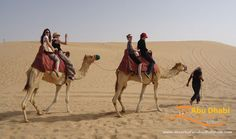 Abu-Dhabi-desert-safari-on-a-camel - glad I did it but it was scary!! 2015
