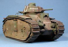 Char B1 bis Heavy Tank (France)