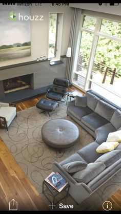 Elegant Round Table With Couch In Pieces