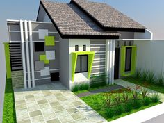house design and architecture consultant. Minimalist House Design, Minimalist Home, Modern House Design, Home Developers, Natural Landscaping, 2 Storey House, Building A New Home, Home Design Plans, Home Pictures