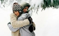 This image is a good example of pathetic fallacy because it can show how the existence of the snow affected the emotional feelings between the couple which are the warmth and tenderness.