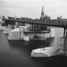 noodbrug wilhelminabrug 1945