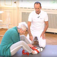 Übung bei Rückenschmerzen im Alter