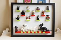 Lego Figure Display DIY
